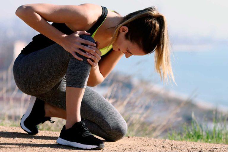 Protege tus rodillas al correr